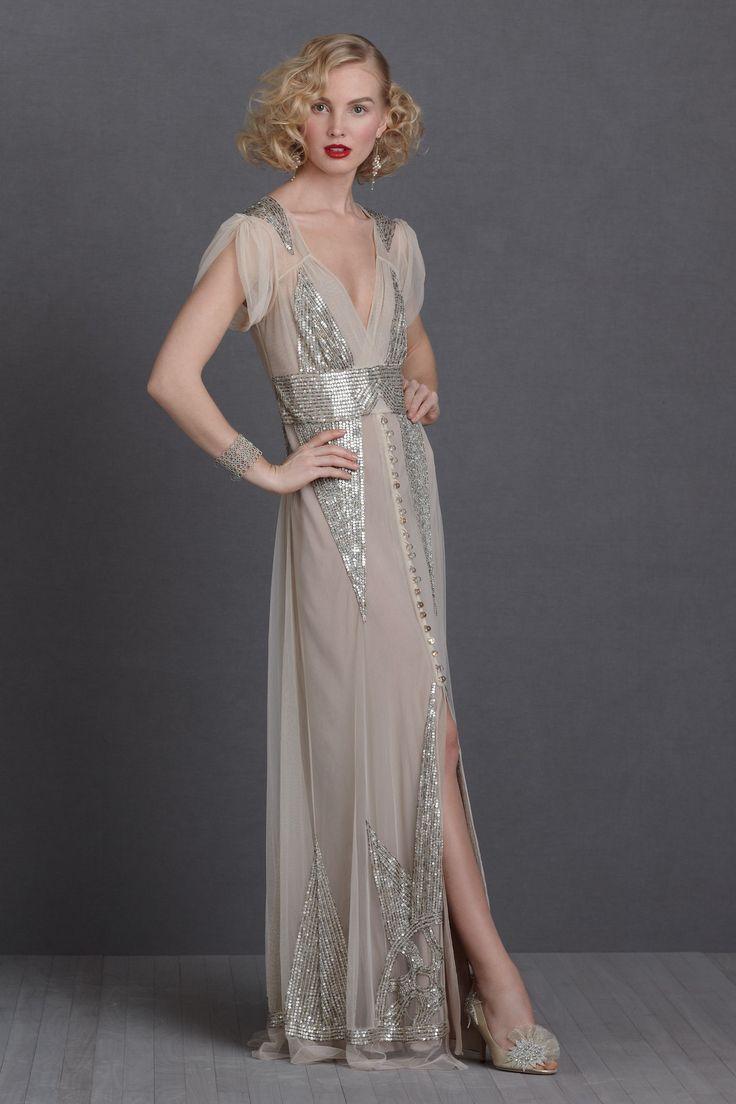 silver-wedding-dress - Outre Bride
